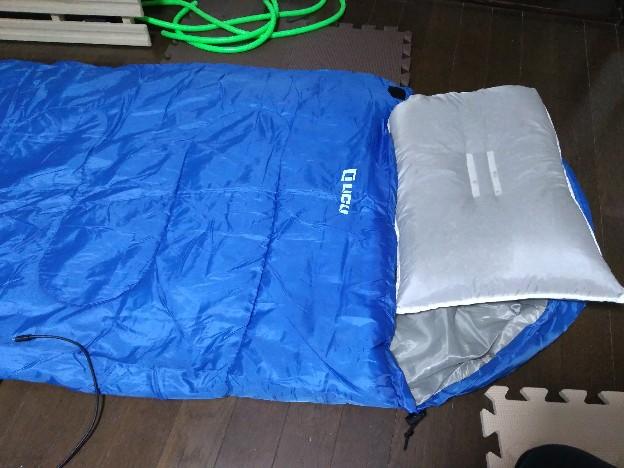 寝袋の選び方